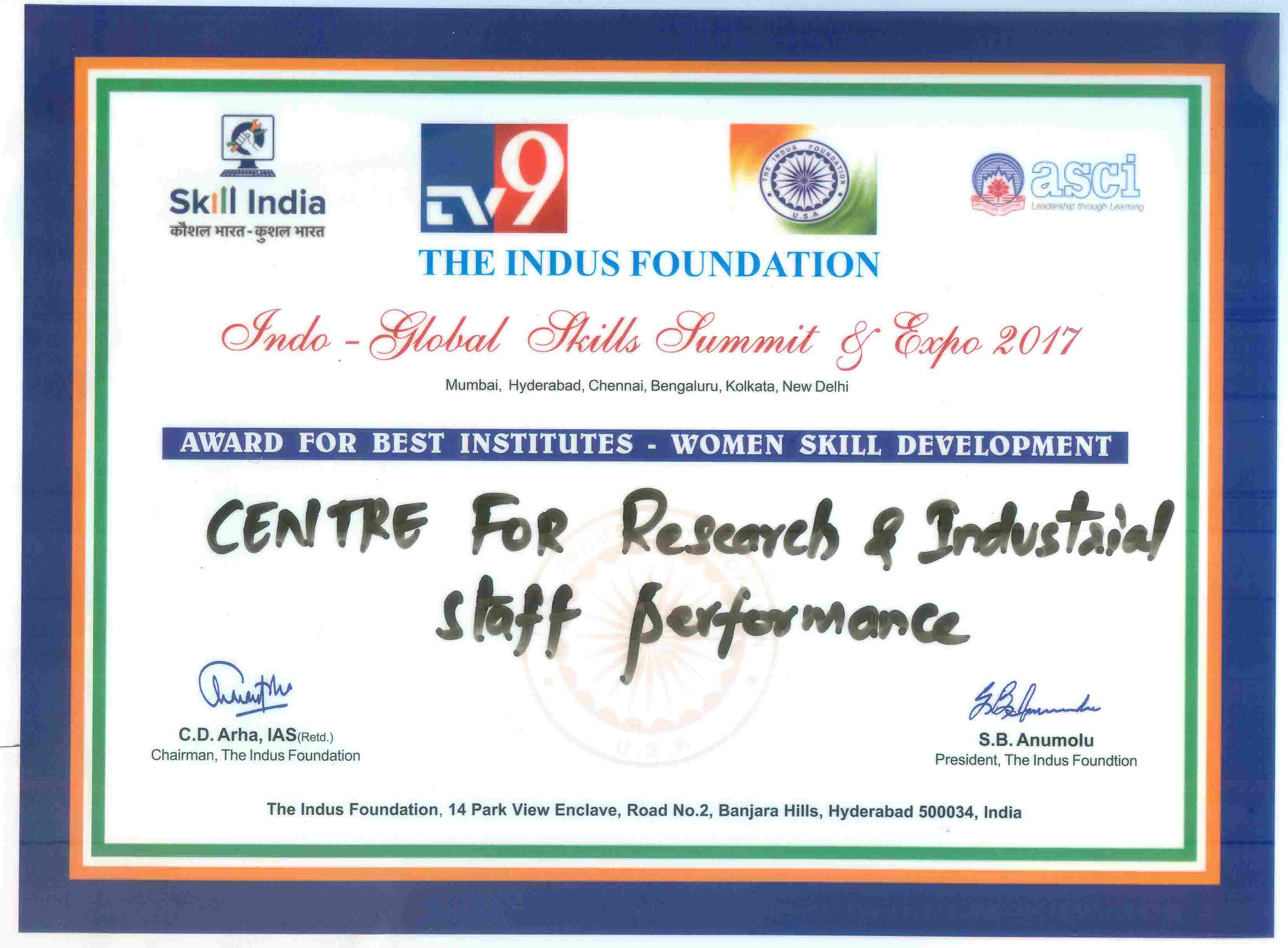 certificate-best-institute